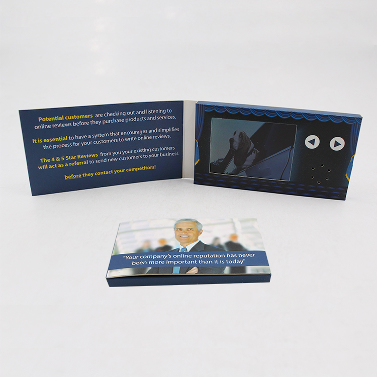 28 Digital Video Business Card With Lcd Screenulight